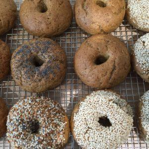 Bagels (4) per each variety
